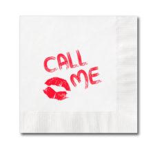 serviettes en papier personnalisées avec logo