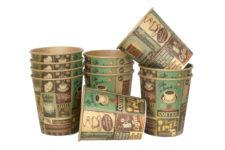 kubki papierowe z nadrukiem, customized paper cups, pappersmuggar med tryck, GOBELETS EN CARTON PERSONNALISÉS